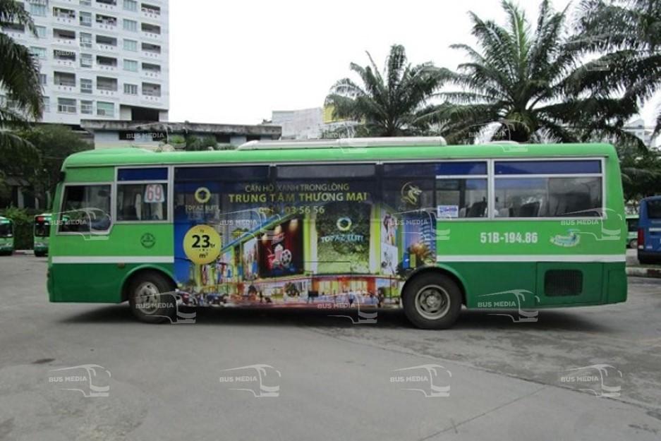 quảng cáo xe buýt hiệu quả
