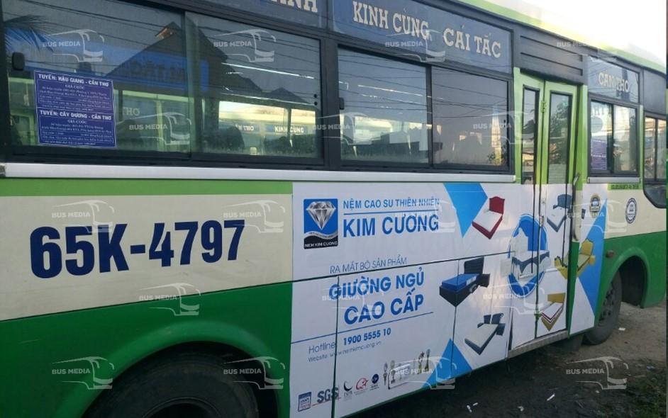 quảng cáo xe buýt cần thơ