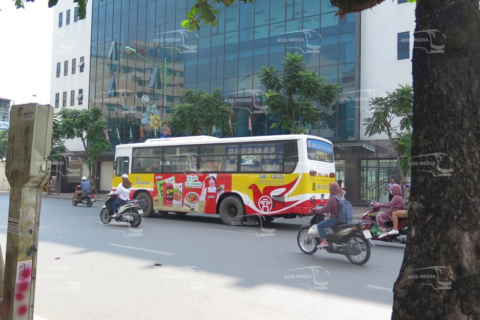 quảng cáo xe buýt tại Hà Nội