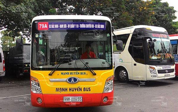 quảng cáo xe bus tại bắc ninh