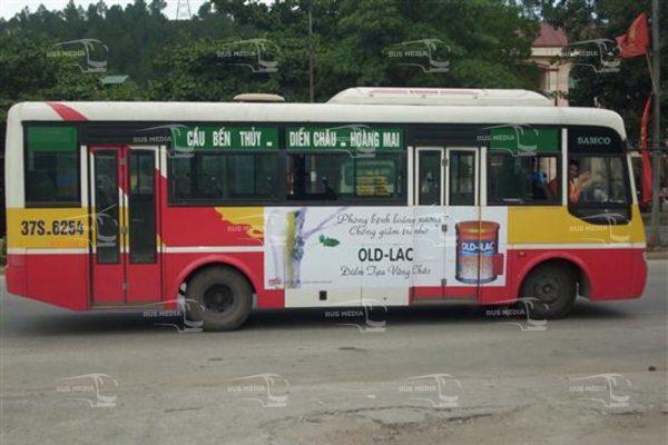 quảng cáo xe buýt tại nghệ an