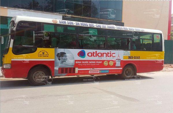 quảng cáo xe buýt tại thanh hóa