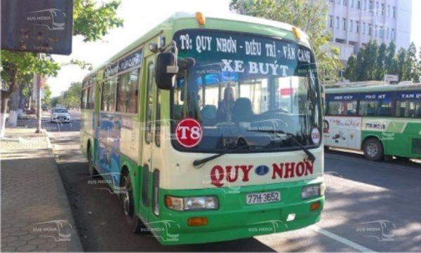 quảng cáo xe buýt tại bình định
