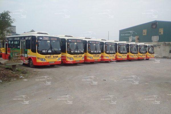 quảng cáo xe buýt tại hà nam
