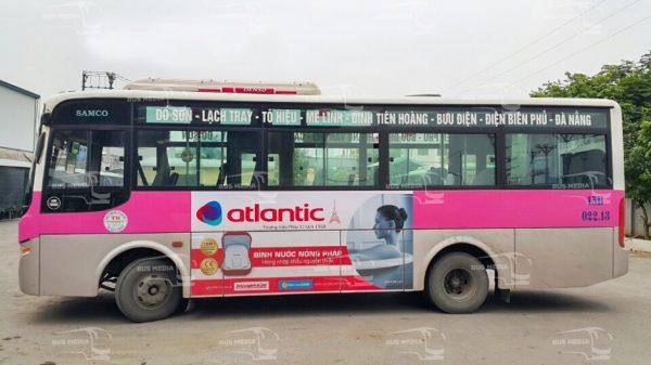 quảng cáo xe buýt tại hải phòng