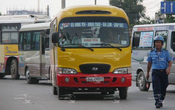 quảng cáo xe buýt tại hưng yên