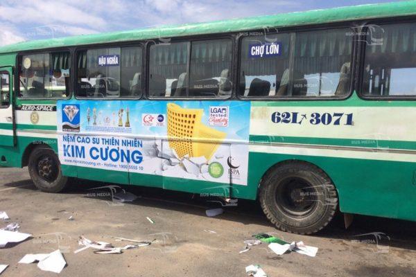 quảng cáo xe buýt tại long an