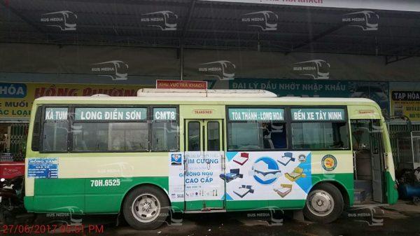 quảng cáo xe buýt tại tây ninh