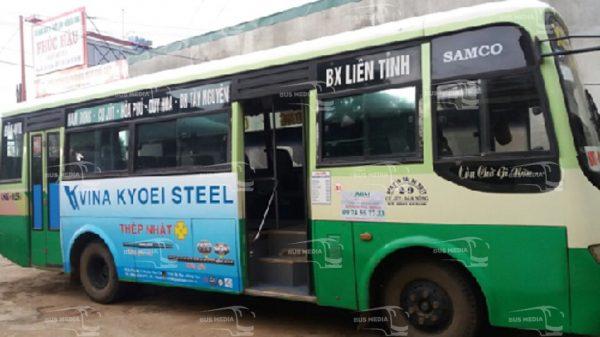 quảng cáo xe buýt tại đăk nông