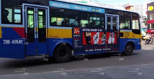 quảng cáo xe buýt tại khánh hòa