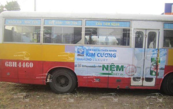 quảng cáo xe buýt tại kiên giang
