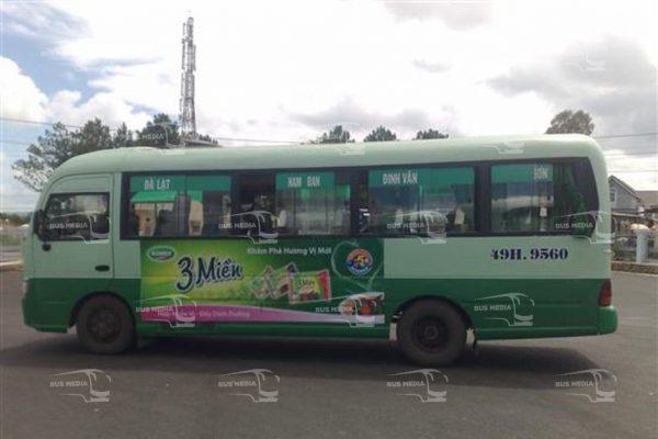 quảng cáo xe buýt tại lâm đồng