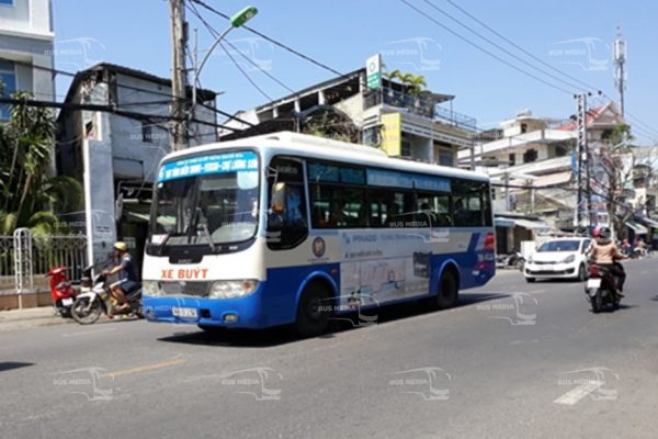 quảng cáo xe buýt tại ninh thuận