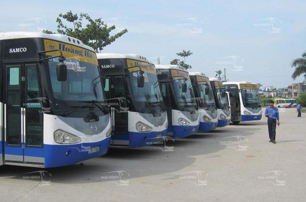 quảng cáo xe buýt tại thái bình