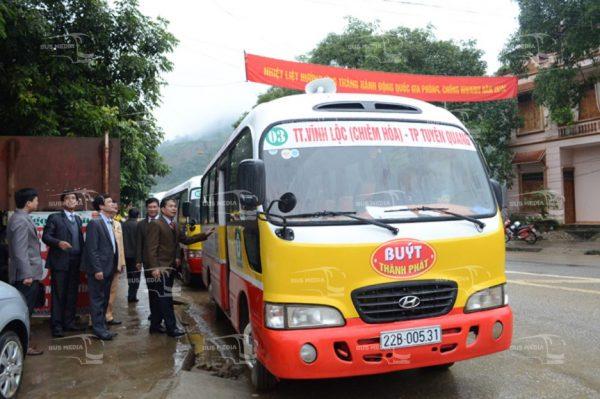 quảng cáo xe buýt tại tuyên quang